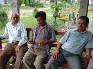 Crash Course on Local Politics in Nepal is based above all on interviews and conversations with MPs, district-level politicians (picture) and village politicians.