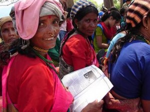Reading about inclusion: low caste women