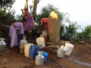 Water in one village