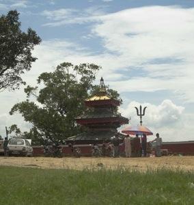 The temple in Saathi-ghar