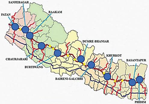 Nepal Map Pdf