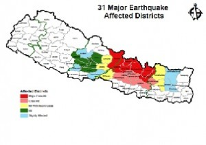 Sushil Gyawali, CEO of the NRA - finally revived in December - pledges immediate relief to the affected districts