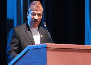 Deputy Prime Minister, Kamal Thapa, gets to promise local elections twice in two months (in February, then April)