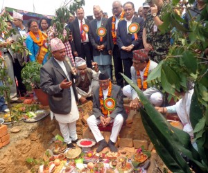 PM laying foundation stone for Pokhara International Airport: reconstruction, roads and more set to boost cement demand in coming years