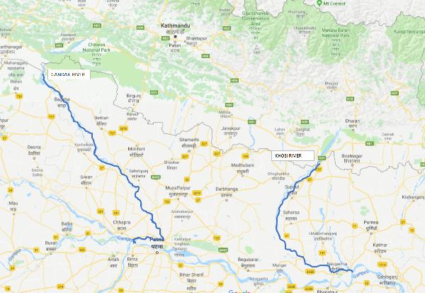 rivers Nepal waterways