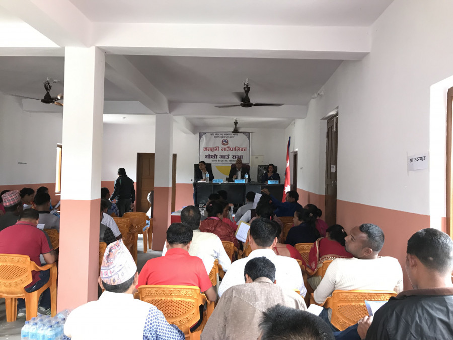 Nepal municipality local government politics