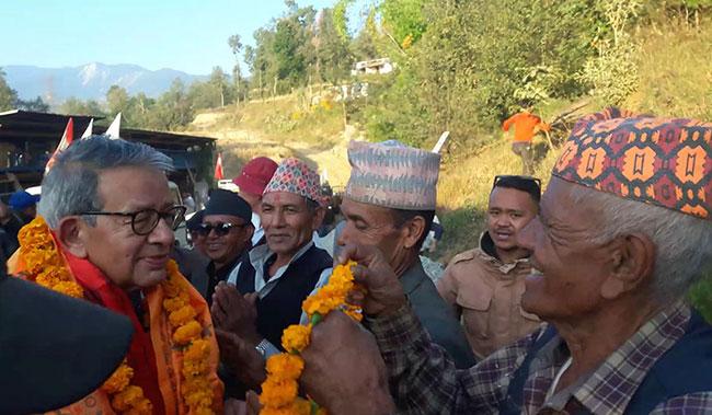 MP local politics Nepal