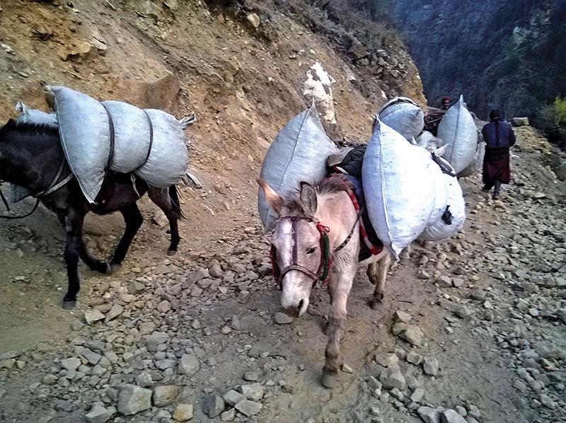 Nepal infrastructure roads
