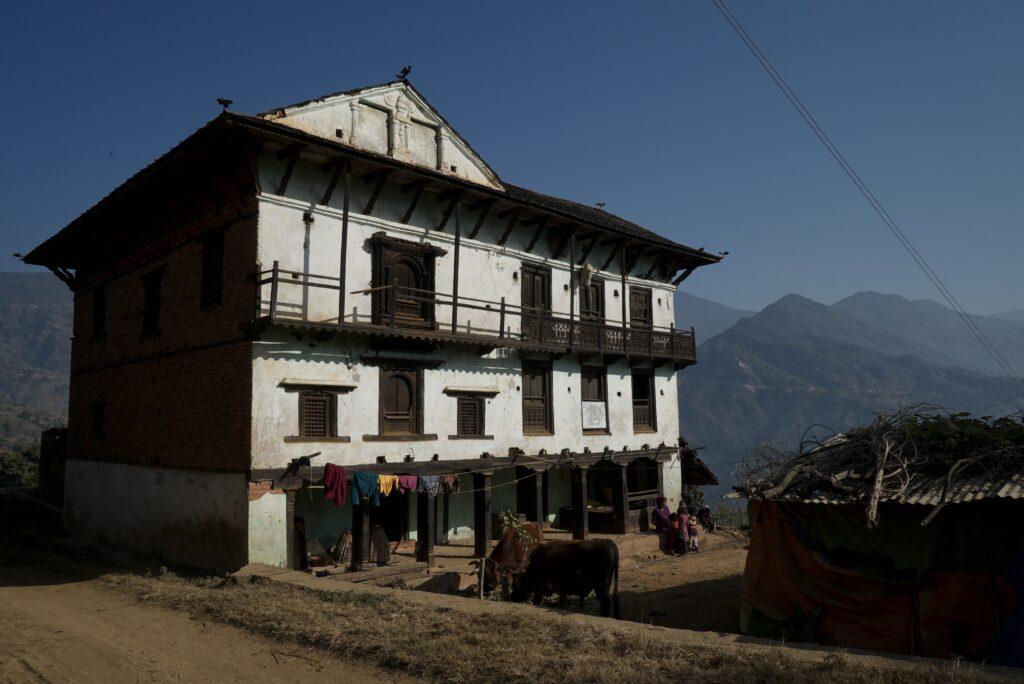 Nepal culture architecture rural